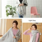 Cheap Soft Wool Scarf Shawl with Tassel280281