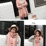 Cheap Soft Wool Scarf Shawl with Tassel303774