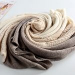 Fashion women knitted shawl 100% cashmere poncho186537