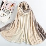 Fashion women knitted shawl 100% cashmere poncho367592